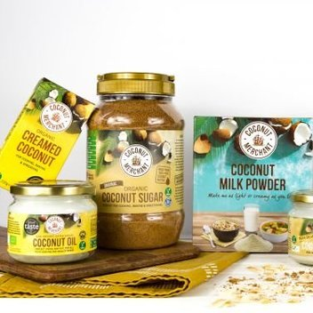 Have a free hamper of Coconut Merchant goodies