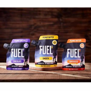 Get a FUEL10K Nut Butter pouch for free