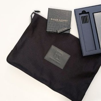 Win a Ralph Lauren textile bag with a notebook, a USB stick & a Ralph Lauren book