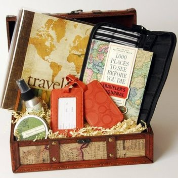 Get a jam-packed travel hamper
