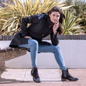 Win a stylish Odette coat or leather Chelsea boots from Welligogs