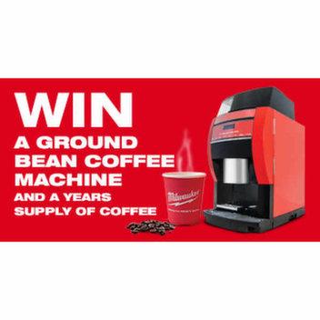 Win a Milwaukee Coffee Machine & a years supply of coffee