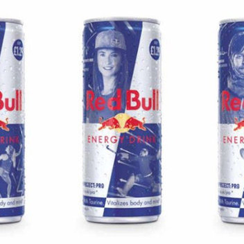 Get your hands on a free Limited Edition Red Bull
