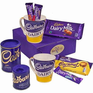 Claim a free Cadbury hot chocolate hamper