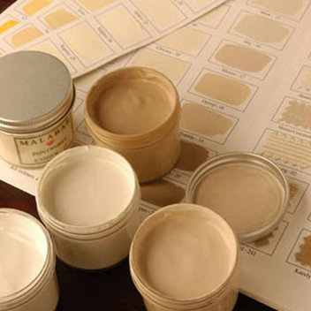 Free samples of Malabar paint