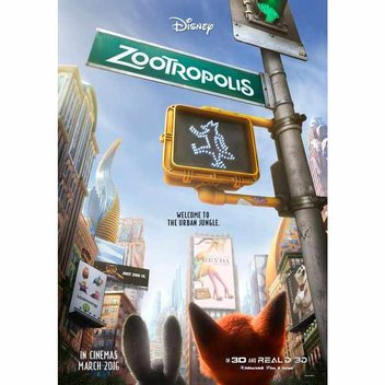 Free Zootropolis Colouring Pages & Activities