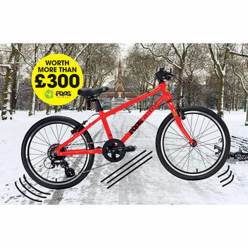 Win a bicycle worth more than £300 from Frog Bikes