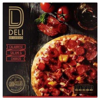 Free Delli Di Lusso Pizza from Tesco