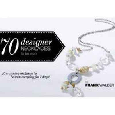 Free Frank Walder necklaces from Gray & Osbourn