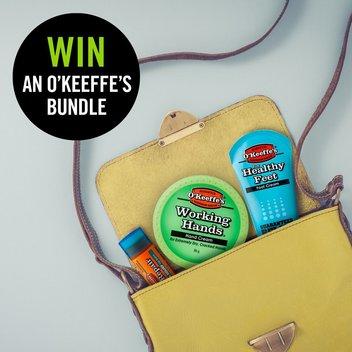 Bag a free O'Keeffe's bundle