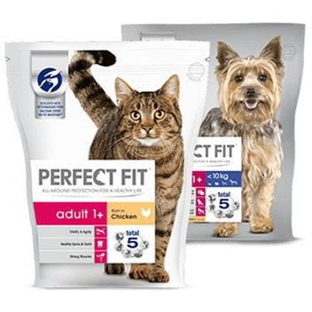 Get your first pack of Perfect Fit pet food for free