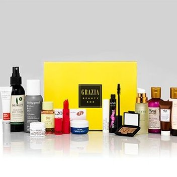 Get one of Grazia's new beauty boxes for free