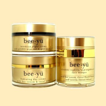 Supercharge your skincare regime with a free Bee Yü skincare set