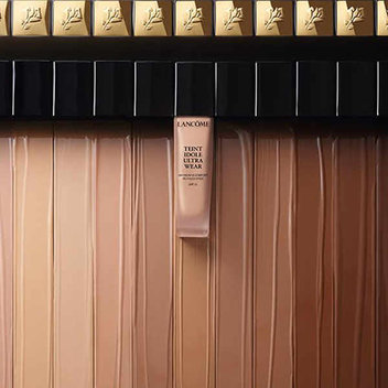 Sample Lancome foundation to find your perfect shade