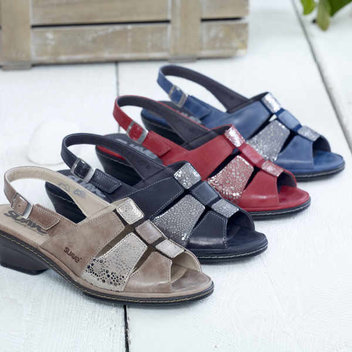 Pick up a free pair of luxurious leather sandals