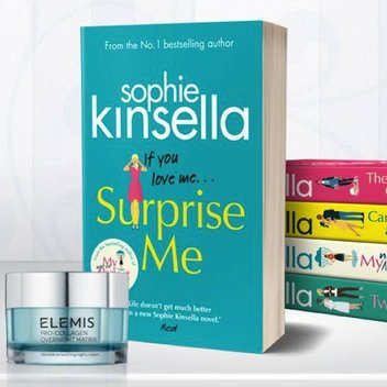 Win an Elemis face cream & Sophie Kinsella bundle