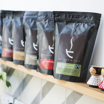 Claim free coffee samples from Spiller & Tait