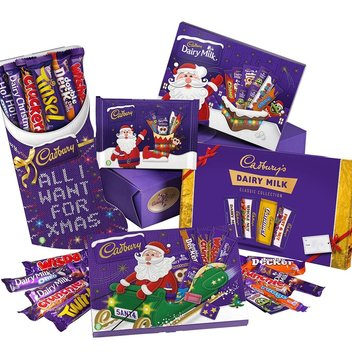Get your hands on a Cadbury Christmas Hamper