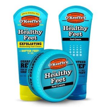 Redeem a free O'Keeffe's Healthy Feet Lotion