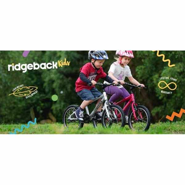 Win a lightweight Ridgeback Dimensions kids bike