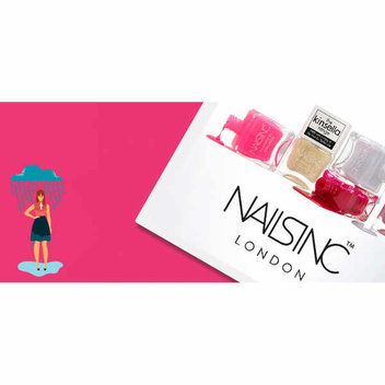 Win 1 of 10 £50 gift cards for Nails inc