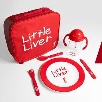 Dine with a free Little Liver dining set