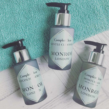 Redeem free Monroe of London Skincare Kits