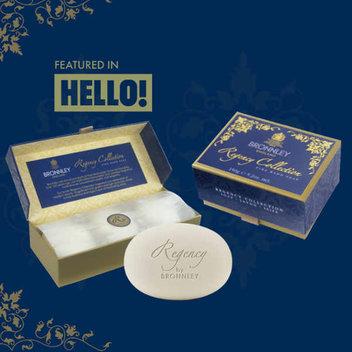 Score a free Bronnley Regency Collection Soap Set