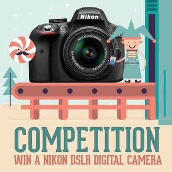 Win a DSLR with Picture Frames Express