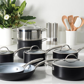 Take home a ProCook Professional Ceramic 8-piece cookware set worth £249