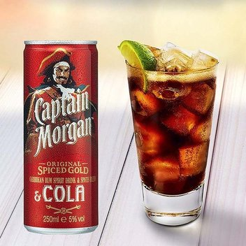Claim a free drink from Captain Morgan