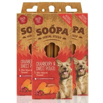 Secure free Soopa Dental Sticks samples