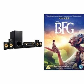Win a home entertainment system worth £500 with The BFG
