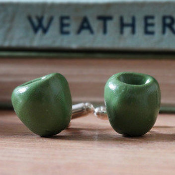 10 Olive Cufflink Sets from By the Shed to be won