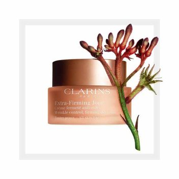 Claim a free Clarins Extra-Firming Day Cream