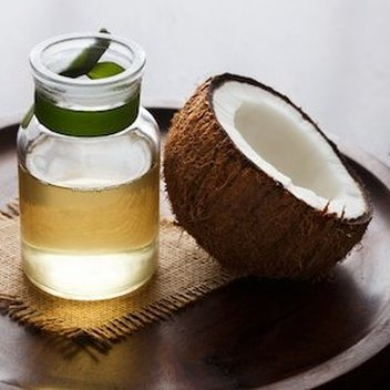 Secure free coconut oil samples