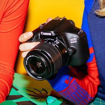Snap your favourite memories with a free Canon DSLR Camera