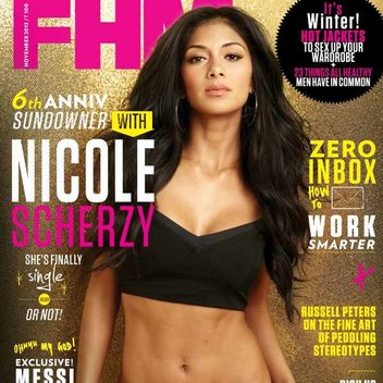 Free copy of FHM magazine