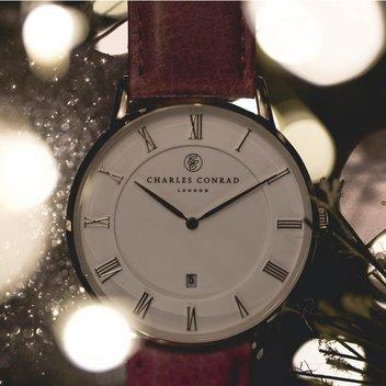 Win a Charles Conrad watch worth £179