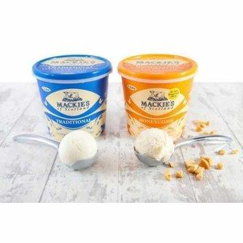 Free Tub of Mackie's Ice Cream