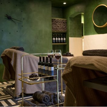 Score a free wine spa treatment with your very own plus one