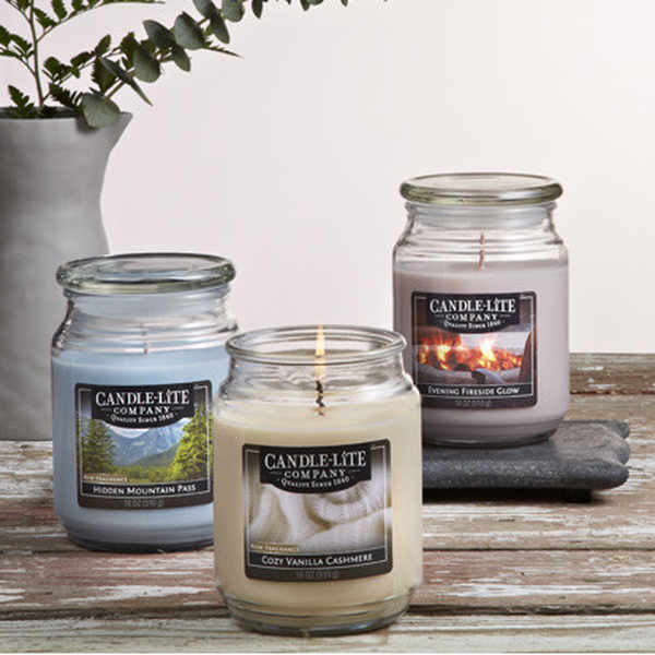 Free luxury scented candle samples from Candle-Lite Company