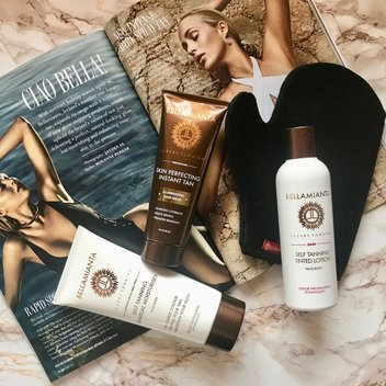 Indulge in a year's supply of Bellamianta Luxury Tanning products for you & a friend