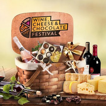 Claim free tickets to the Wine, Cheese and Chocolate Festival & a hamper