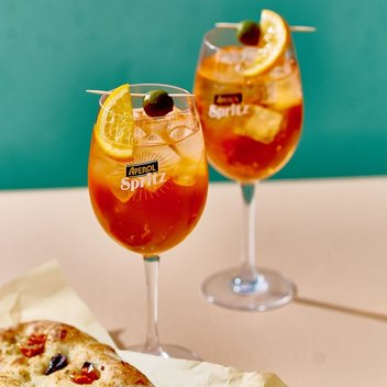 Complimentary Aperol Spritz at Ask Italian