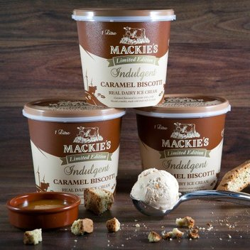 Enjoy a free Mackie's of Scotland ice-cream hamper