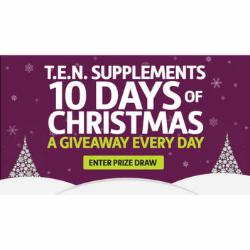 T.E.N. Supplements T.E.N. Days of Christmas Giveaway