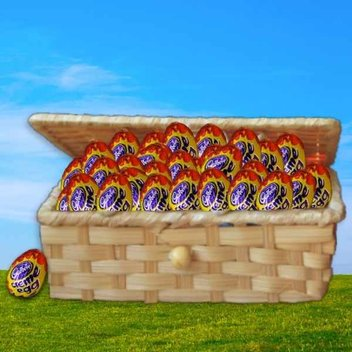 Have a huge haul of Cadbury Creme Eggs