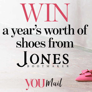 Win a year's worth of shoes from Jones