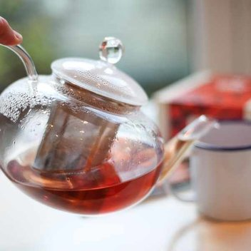 Get free Adagio tea & a glass tea set